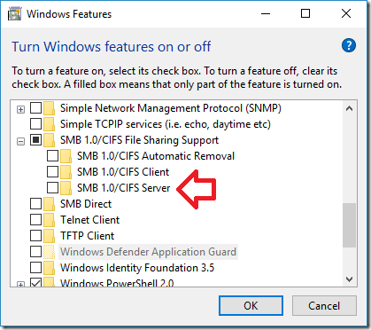 Fixing Broken Samba File Share Access for Linux Hosts with Windows